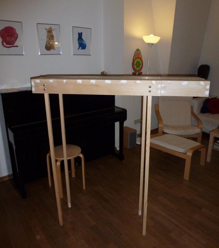 Module mit beinen for Diagonalverstrebung holzbau