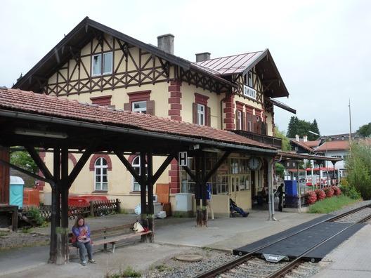 EG Gmund, Gleisseite