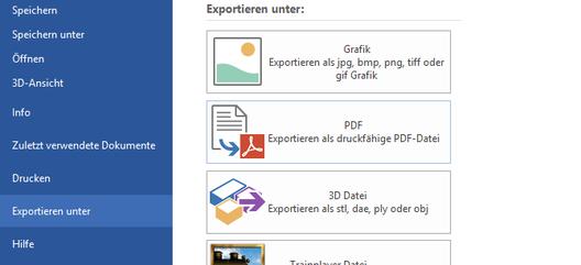 AnyRail 6 mit pdf-Export